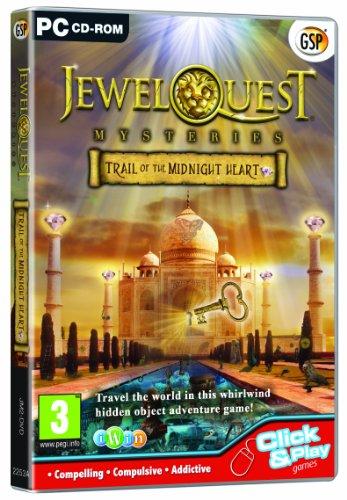 Jewel Quest Mysteries 2: Trail of the Midnight Heart (PC CD)