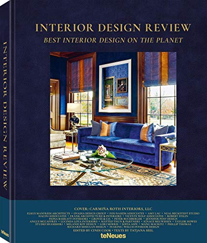 Interior Design Review, Best Interior Design on the Planet, Das große Einrichtungsbuch mit Wohnideen für Ihr Zuhause (Deutsch, Englisch, Französisch), 25x32 cm, 304 Seiten