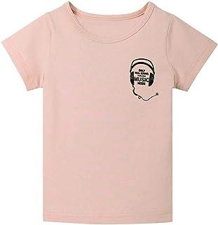 Kukiwa男の子Tシャツ ヘッドホン 90CM~140CM 半袖 ベビー ボーイズ服  男 キッズ服 平日