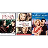 Because I Said So / I Could Never Be Your Woman / Just Like Heaven (3 Disc DVD Romantic Comedy Set) - Diane Keaton, Mandy Moore, Michelle Pfeiffer, Paul Rudd, Reese Witherspoon, Mark Ruffalo