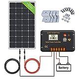 kit solar autocaravana 150w