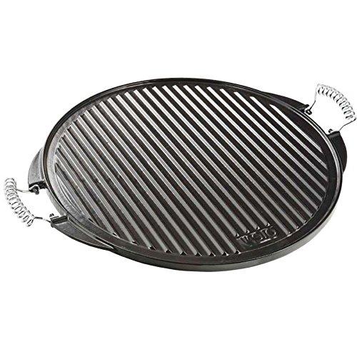 Vaello La Valenciana Plaque de cuisson ronde en fonte émaillée noire 53 cm 3852