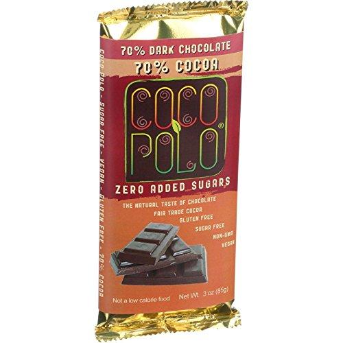 Cocopolo Dark Chocolate Bar (Case of 12)