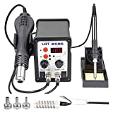 110V 2 in 1 SMD Rework Station, 700W Hot Air Gun & 60W