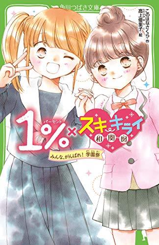 1%×スキ・キライ相関図 みんな、がんばれ! 学園祭 (角川つばさ文庫)の詳細を見る