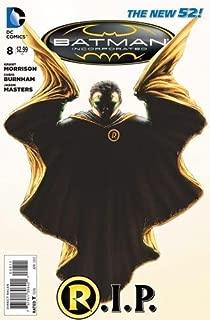 Batman Incorporated #8 RIP The Death of Robin Damian Wayne First Printing