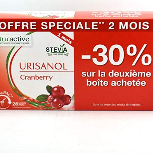 Max 83% OFF Naturactive Urisanol Cranberry All stores are sold 2 x Sticks 28