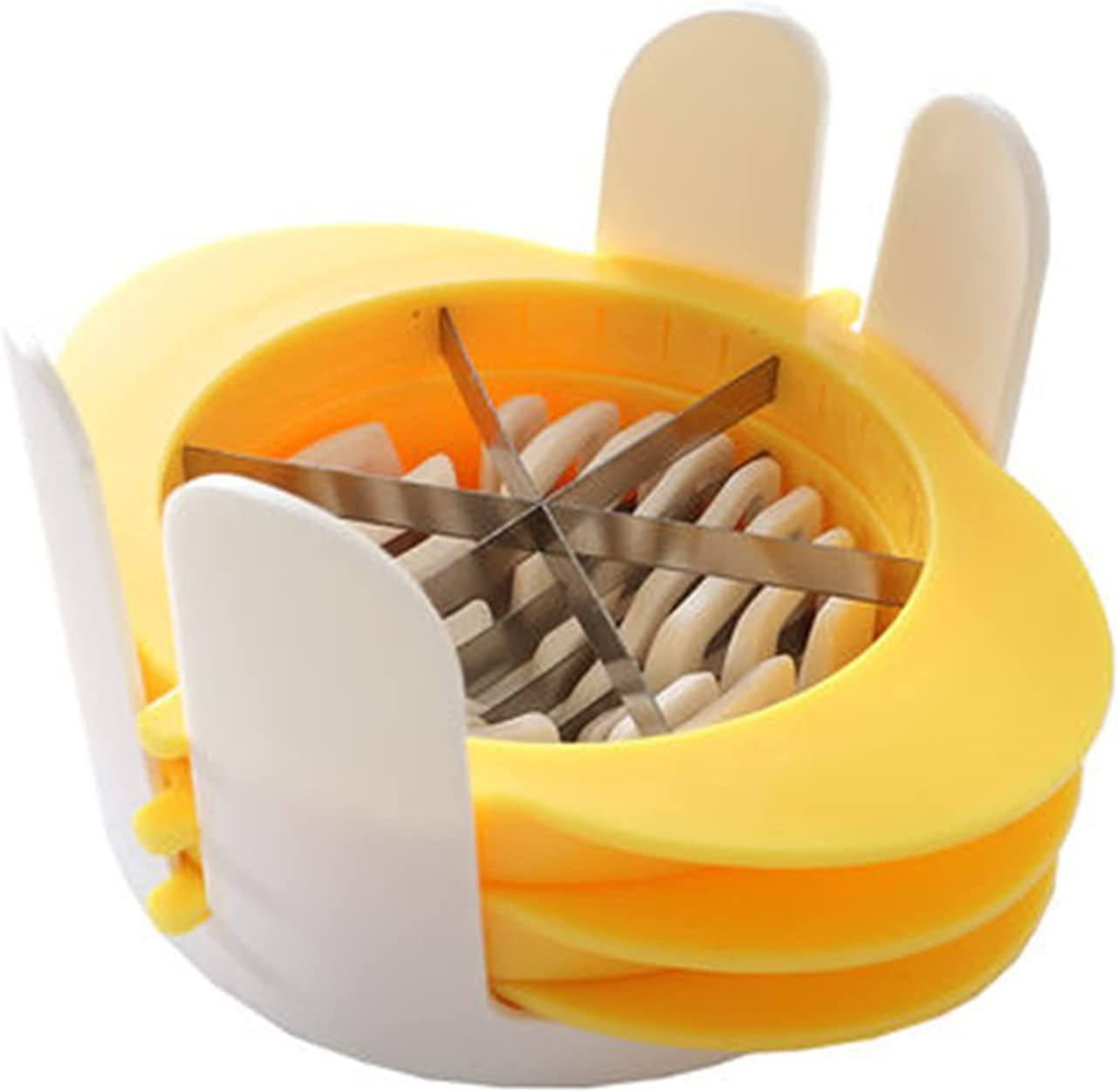 Today's only QERNTPEY Egg Slicer Household Preserved Cutter Three-in-one Popular products