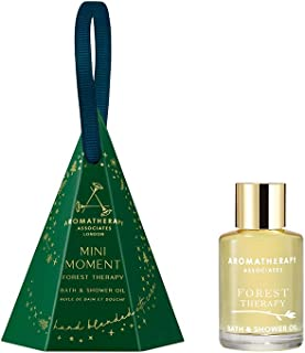 Aromatherapy Associates Mini Moment Forest Therapy 0.3Floz Holiday Gift Tree Decoration. Contains our 100% natural & thera...