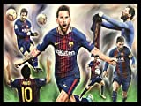 Credence Collections Lionel Messi Collage Populärer
