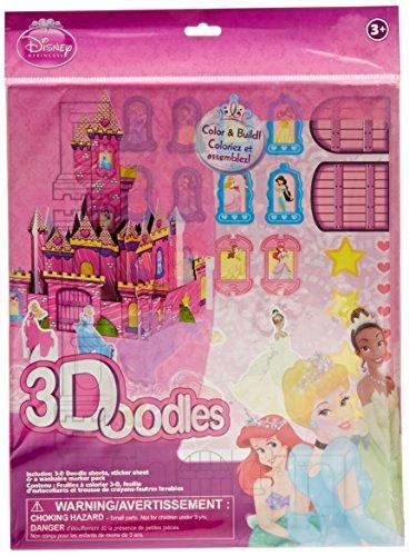 Artzone Disney Princess 3Doodles
