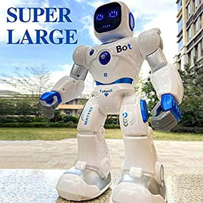 Ruko Smart Robots for Kids, Large Programmable Interactive RC Robot with Voice Control, APP Contol, Present for 4 5 6 7 8 9 Years Old Kids Boys and Girls by Ruko