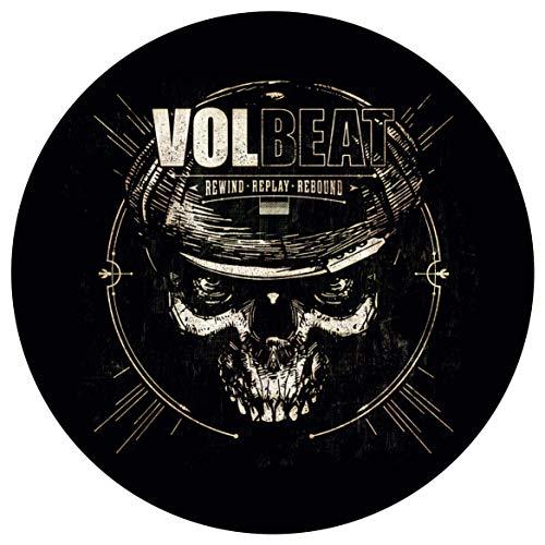 Volbeat Rewind Replay Rebound Dark Autoaufkleber Sticker Aufkleber wasserfest