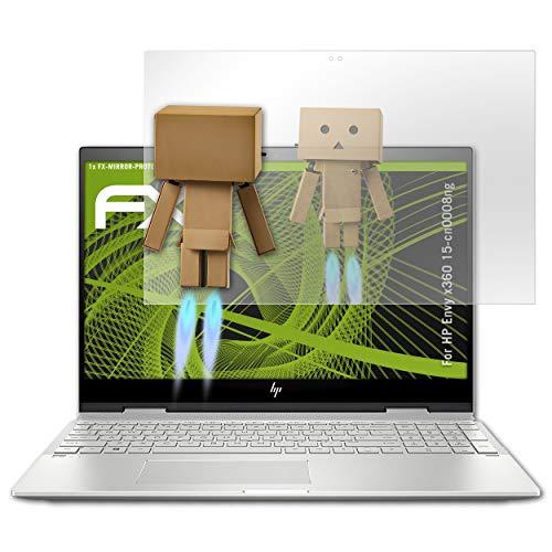 atFolix Displayfolie kompatibel mit HP Envy x360 15-cn0008ng Spiegelfolie, Spiegeleffekt FX Schutzfolie