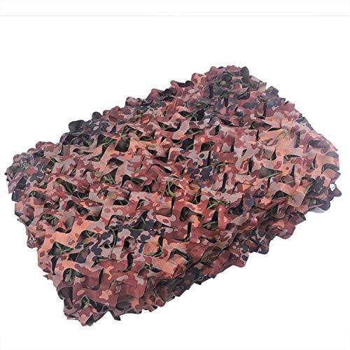 HACSYP Toldos Velas de Sombra Cenadores Red de Camuflaje Red de sombreado Red de decoración Interior Malla de Camuflaje Neta de Camuflaje for Exteriores (Size : 4x8m)