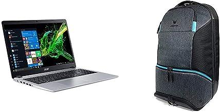"Acer Aspire 5 Slim Laptop, 15.6"" Full HD IPS Display, AMD Ryzen 5 3500U, Vega 8 Graphics, 8GB DDR4, 256GB SSD, Silver with..."