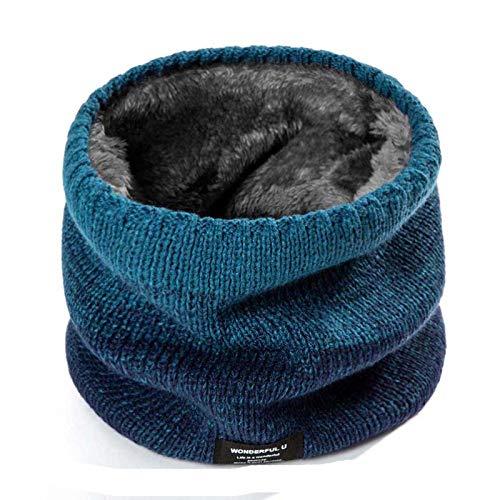 Écharpe d'hiver tendance 2020 pour femme, enfant, garçon, fille, écharpe en laine épaisse unisexe - - Taille unique