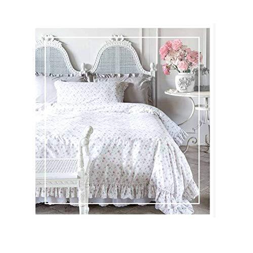 Blanc Mariclo Infinity A27383 - Juego de funda nórdica y funda de almohada para cama individual, color blanco