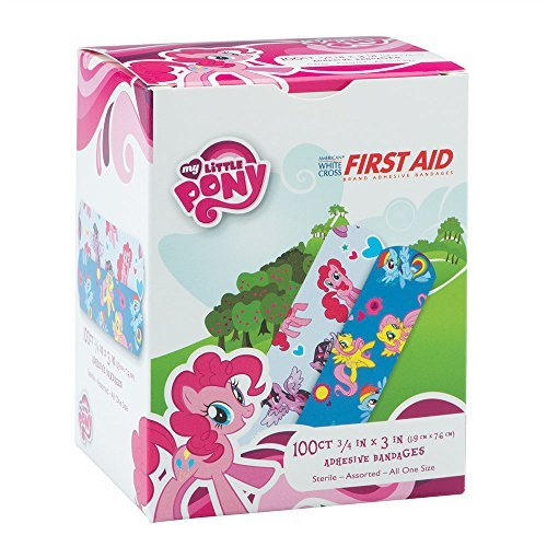 My Little Pony Bandages - First Aid Supplies - 100 per Pack (2 Pack) (2 Pack)