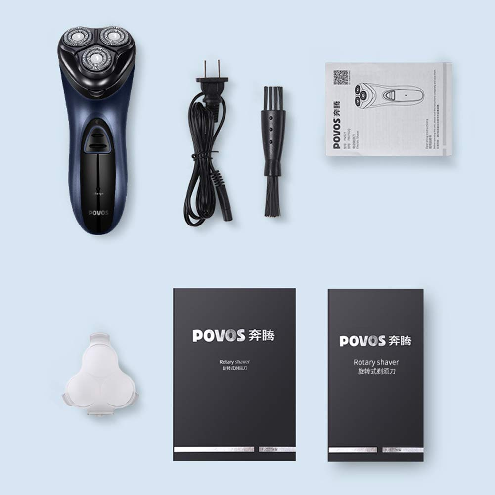 Xb Afeitadora Recargable IPX7 Afeitadora eléctrica a Prueba de ...