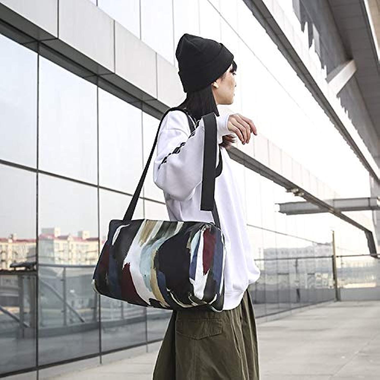 0ccbd36a2 KANEED Portable Travel Duffel Bag, Waterproof Nylon Cloth Shoulder Sports  Gym Handbag Travel Bag (