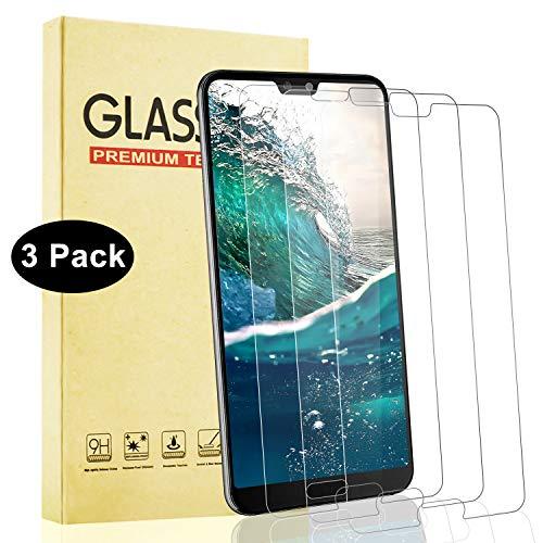 Lixuve 3 Pezzi Pellicola Vetro Temperato per Huawei P20 PRO, Senza Bolle, AntiGraffio Protezione per Schermo per P20 PRO