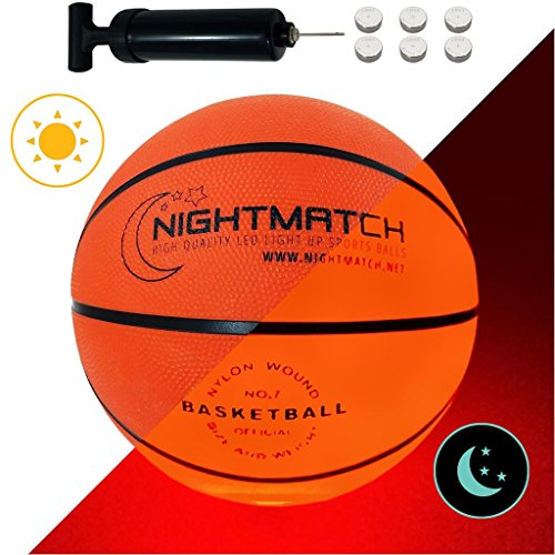 Pallone da Basket che si illumina NightMatch incl. una...