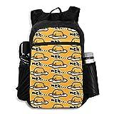 Gudetama Cute Lightweight Foldable Backpack Travel Daypack Waterproof Laptop Packbag Camping Hiking Bag