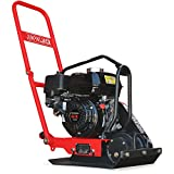 JUMPING JACK 5.5 HP Vibratory Plate Compactor Tamper for Dirt, Asphalt, Gravel, Soil Compaction Powered by...