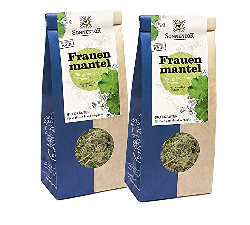 Sonnentor: 100 % bio Frauenmantel Tee lose, 2er Pack Kräutertee (80 g) I BIO-AT-301