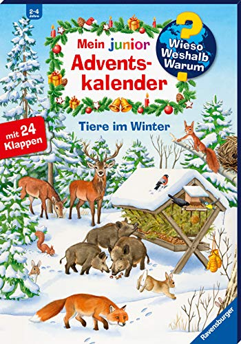 Mein junior Adventskalender Tiere im Winter (Wieso? Weshalb? Warum? Sonderband)