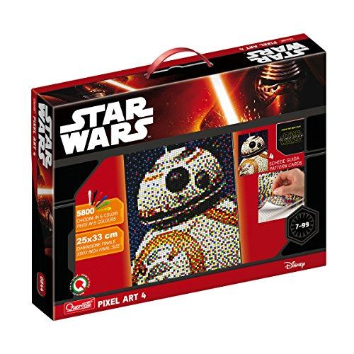 Quercetti 0844 - Steckspiel Pixel Art Star Wars 4 BB8