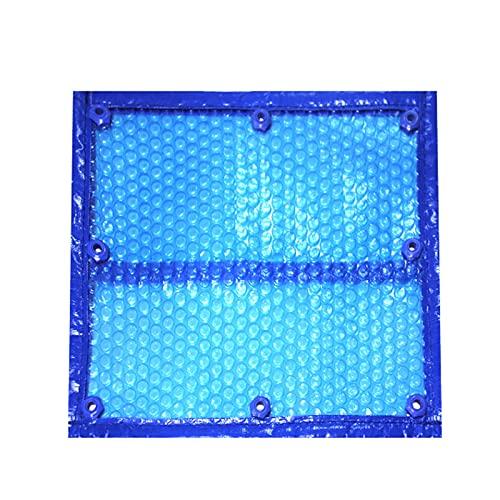 ZXXL Solarabdeckungen Sommer-Solar-Poolabdeckung mit Ösen, Rechteckige Schwimmbadabdeckung für Aufblasbare Pools/Rahmenpools/Aufstellpools (Size : 3m×7m(9.8ft×23ft))