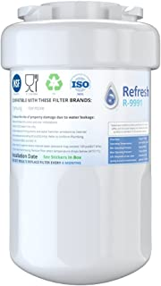 Refresh Replacement for GE Smartwater MWF GWF, MWFP, MWFA and Kenmore 46-9991, 469991, 9991 Refrigerator Water Filter (1-Pack)