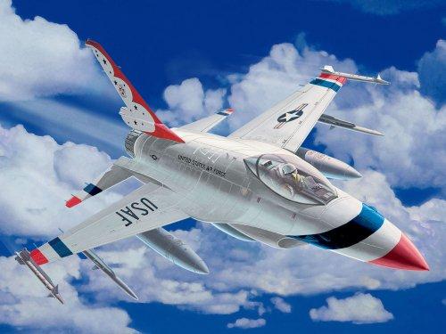 Revell easykit Steckbausatz 06628 - F-16 Fighting Falcon im Maßstab 1:100