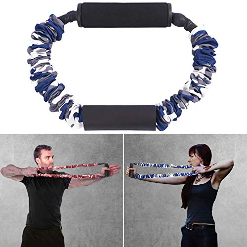 KIKIGOAL Archery Band Archery Exerciser Bow Trainer Strength Training for Reflex Bow Compound Bow Shooting (Blue)