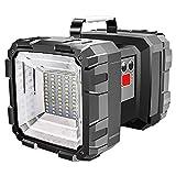 J 5 Modelos Super Brillante Resistente al Agua Linterna LED, Mango de Metal Antideslizante, Rango de iluminación de Gran Angular Grande, duración de la batería Larga
