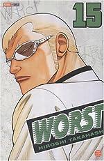 Worst, Tome 15 de Hiroshi Takahashi