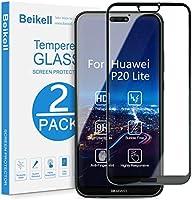 Verre Trempé Huawei P20 Lite, Beikell [Lot de 2] Couverture Complète Film Protection d'écran en Verre Trempé Film...