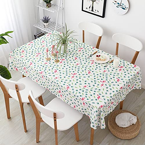 XXDD Mantel a Cuadros Impermeable de Lona de poliéster Azul Blanco y Negro Mantel de decoración de Mesa de Cocina A1 140x160cm