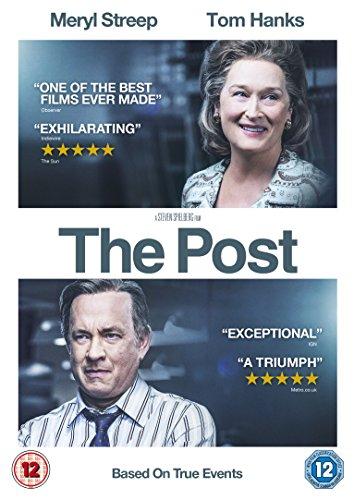 The Post [DVD] [2018] - Region 2 UK
