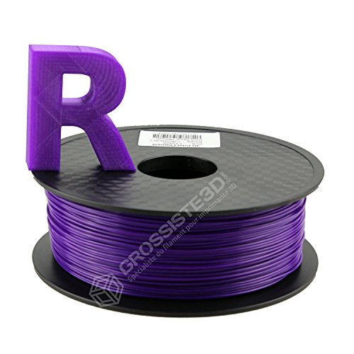 3D PLA FDM 3D Printer Filament and 3D Pen 1.75 mm 1 kg Purple