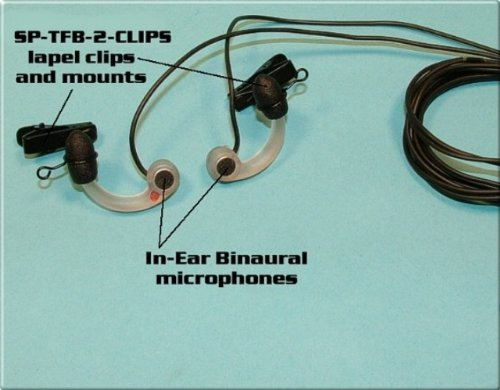 SP-TFB-2-CLIPS - Sound Professionals - One Pair (Complete Set) Of Removable Clips and Mounts.
