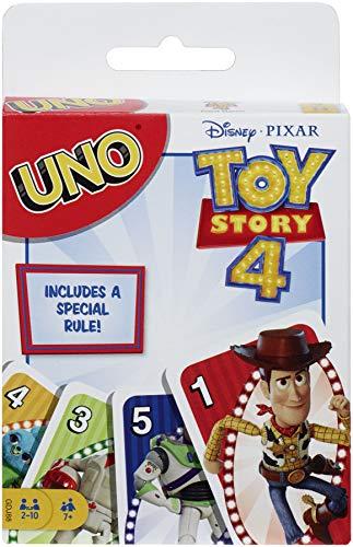 Toy Story 4 - Juego de Cartas de UNO de Disney Pixar - GDJ88