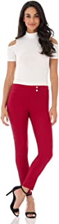 Women's Ease in to Comfort Slim Ankle Pant with Snaps