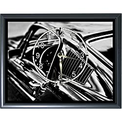68 Ford Mustang Fastback Desk or Wall Plaque Clock 7x 9 Photo Realistic Photo
