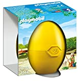 Playmobil 4944 - Alpaka con Guardiana, Giallo
