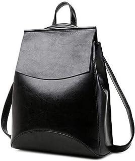 Amazon.com: WSZMD Business Laptop Backpack Notebook Rucksack Mujer Mochila de alta calidad juventud Cuero mochilas para adolescentes Niñas femenino Mochila: ...