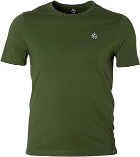 Borussia Mönchengladbach VFL T-Shirt Emblem schwarz, weiß, grau, grün Gr. M-5XL