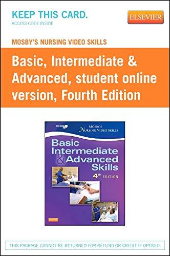 Mosby's Nursing Video Skills: Student Online Version (Access Card)